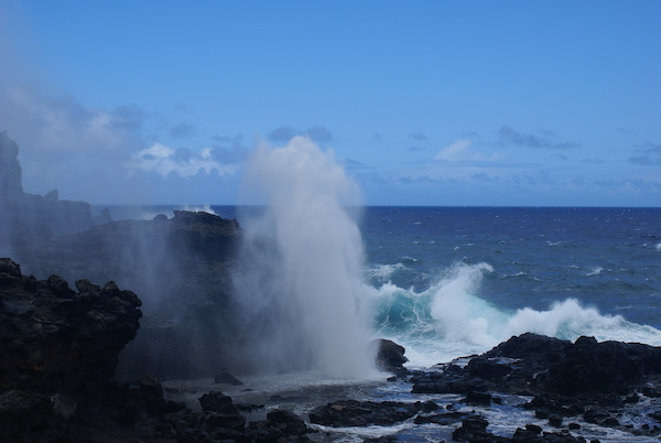 Nakalele Point Blowhole Maui