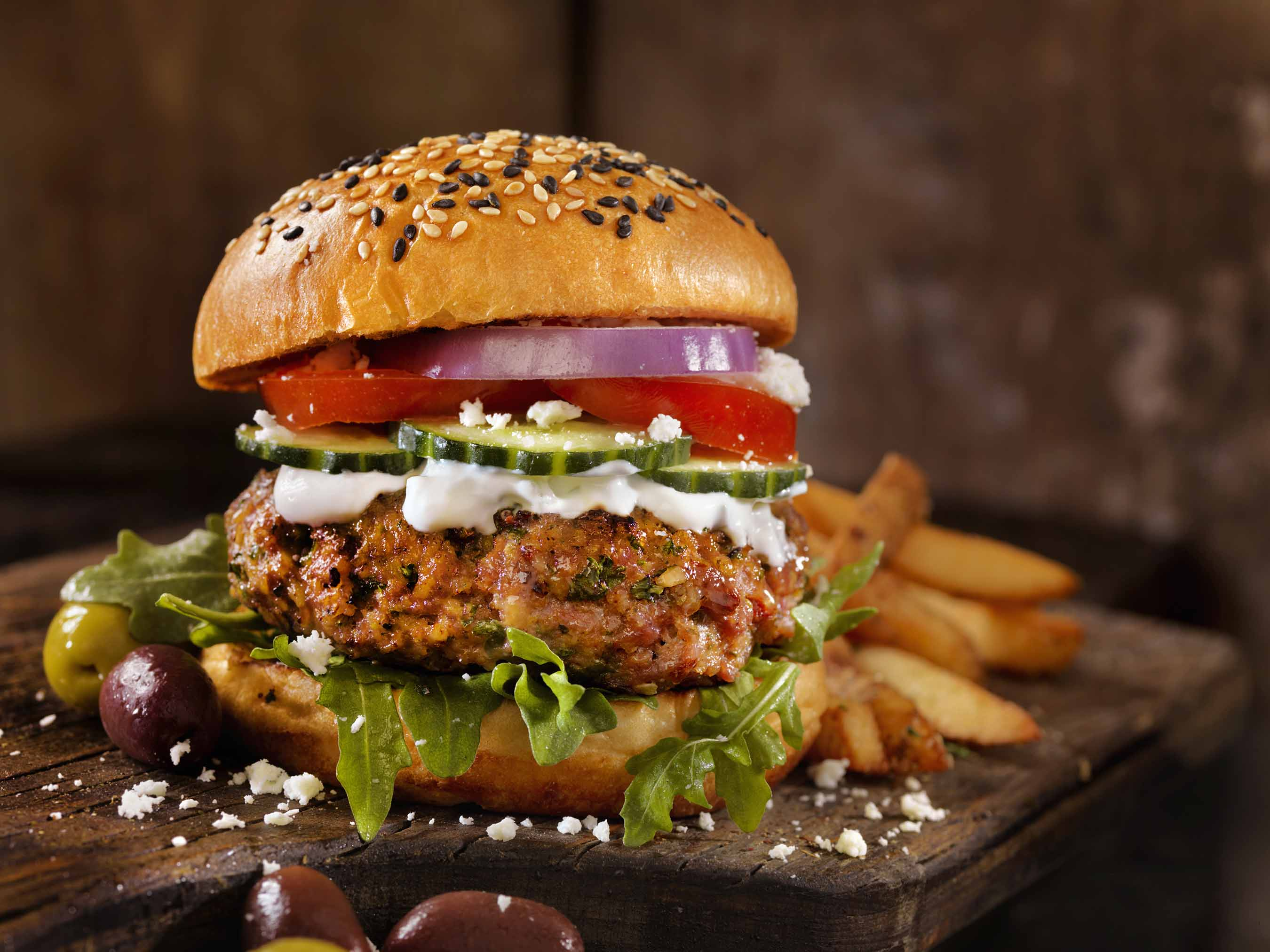 Fresh Old Fashioned Cheese Burger