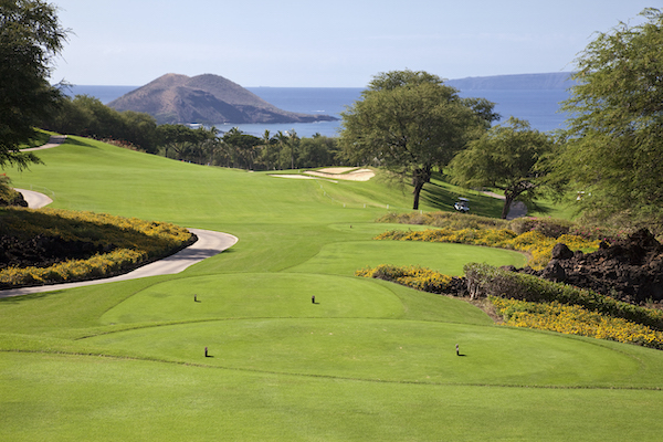golf course in maui