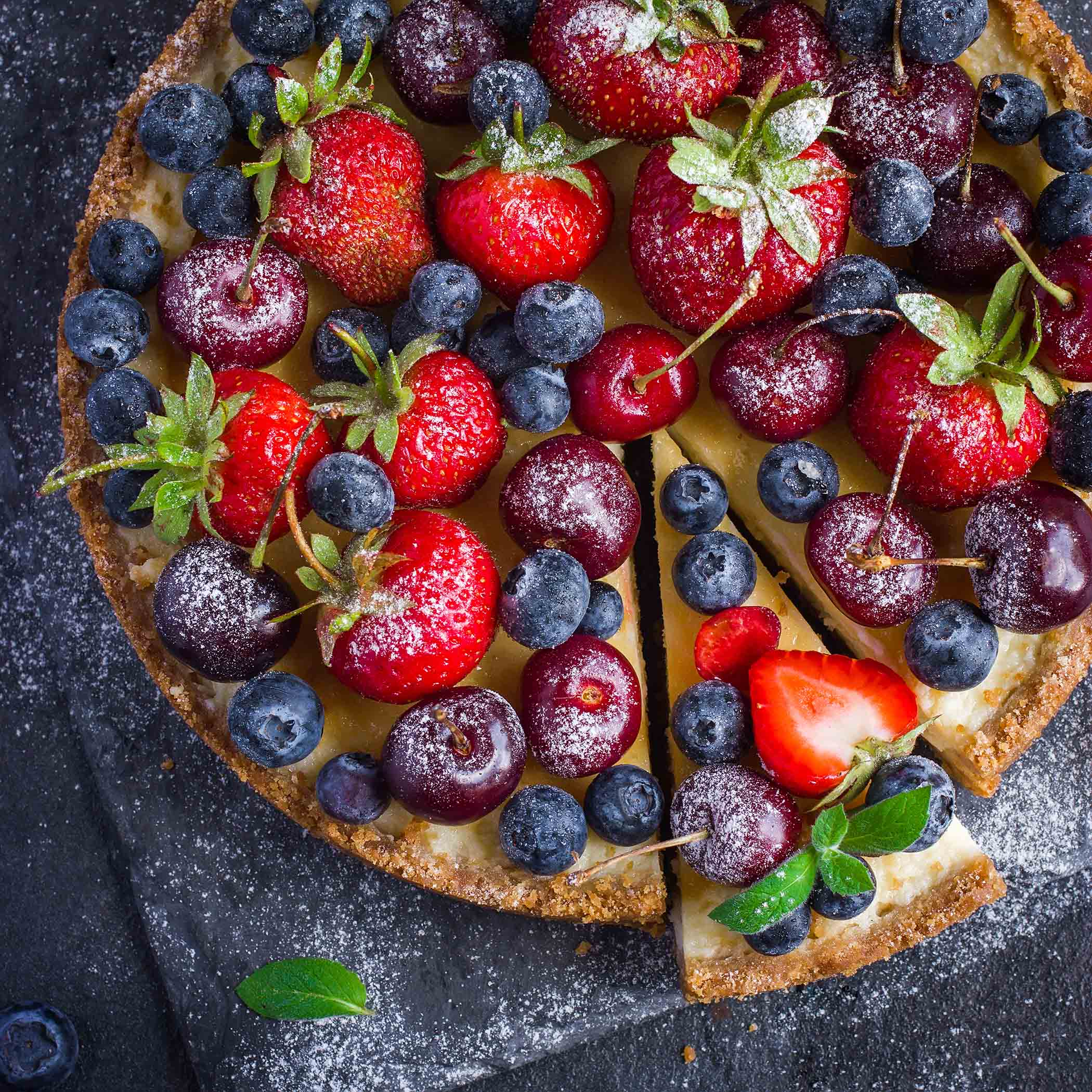 Berry Tart Cheesecake