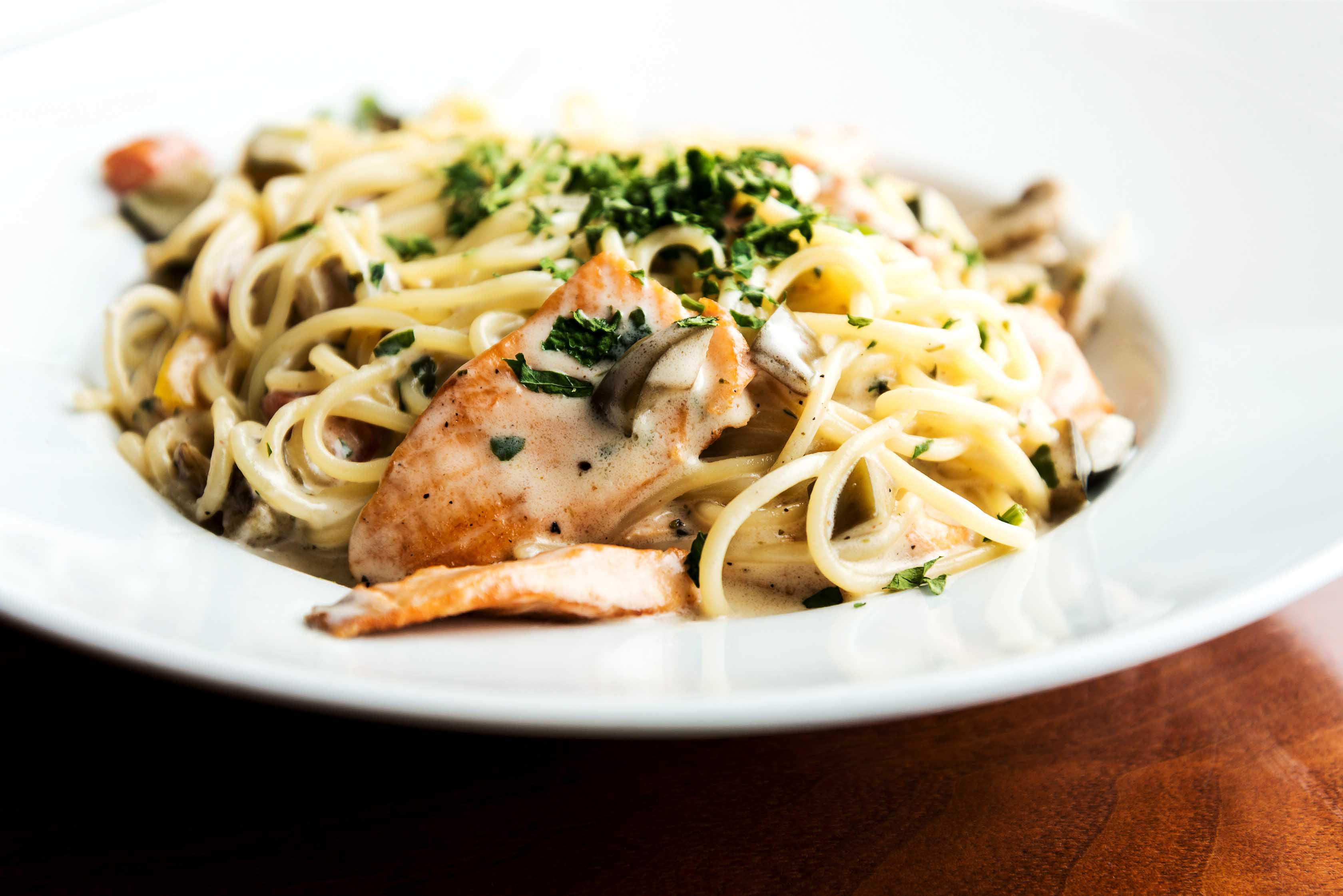 Pasta Dish with Seafood