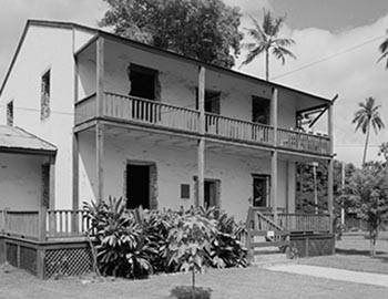 Front of the Baldwin House Museum in Lahaina