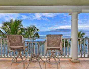 Maui oceanfront vacation rental