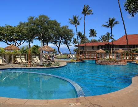pool at the Maui Kaanapali Villas