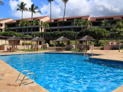 Outdoor pool at the Kaanapali Royal Resort, Maui Hawaii