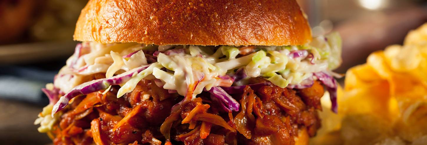 Pulled Pork with Hawaiian Coleslaw