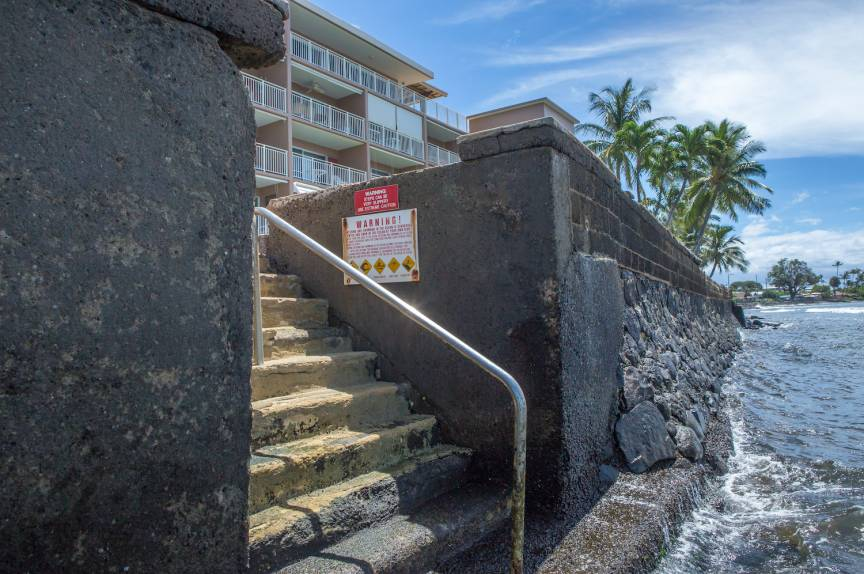 Steps to the water at Lahaina Roads Resort