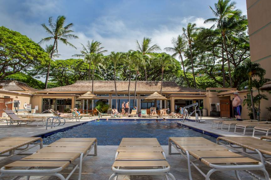 Maui resort pool