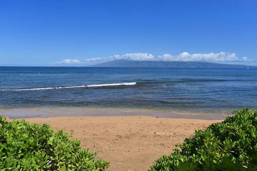 N. Kaanapali Beach as of Aug 2019