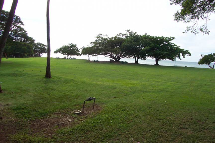 maui vacation rental resort lawn