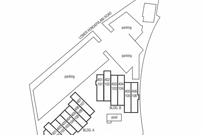 Property Map for Hale Mahina