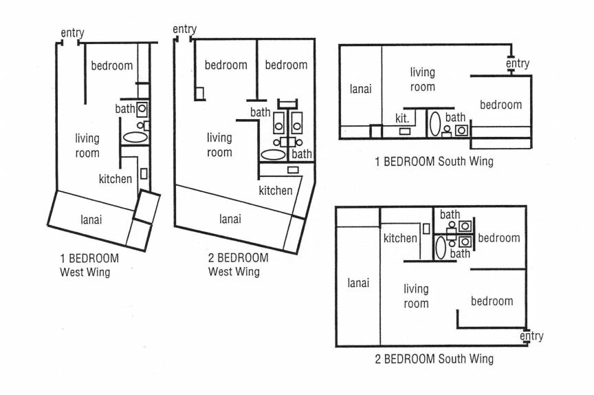 Hale Ono Loa room floor plan