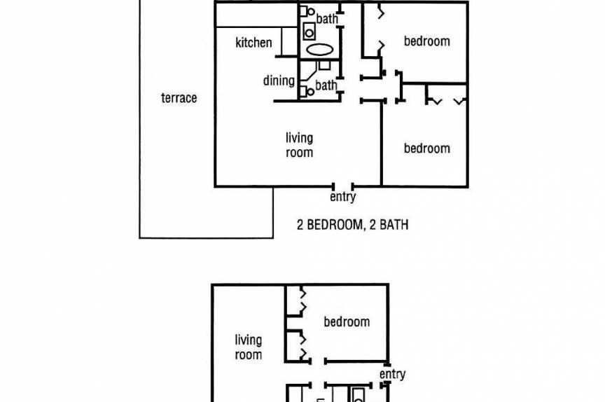 International Colony Club room floor plan