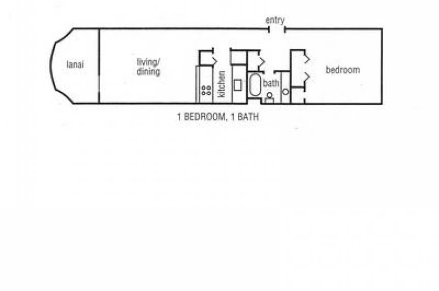 Kahana Reef room floor plan