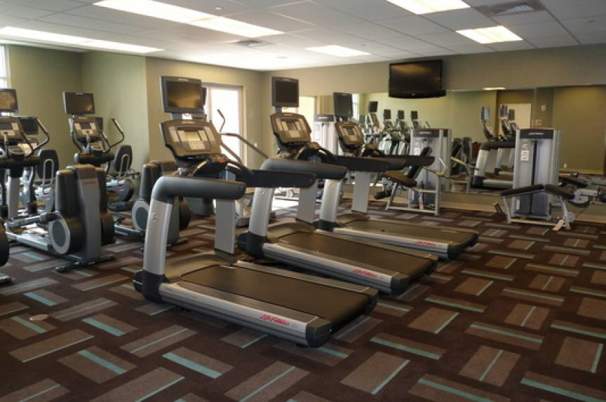 gym access for vacation rental guests