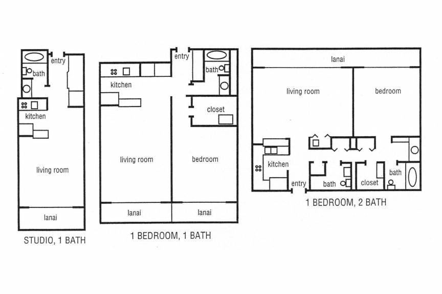 Lahaina Shores floor plan