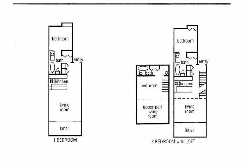 Napili Point condos floor plan