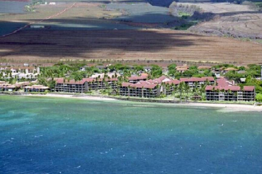 aerial view of the Papakea Resort, Maui HI