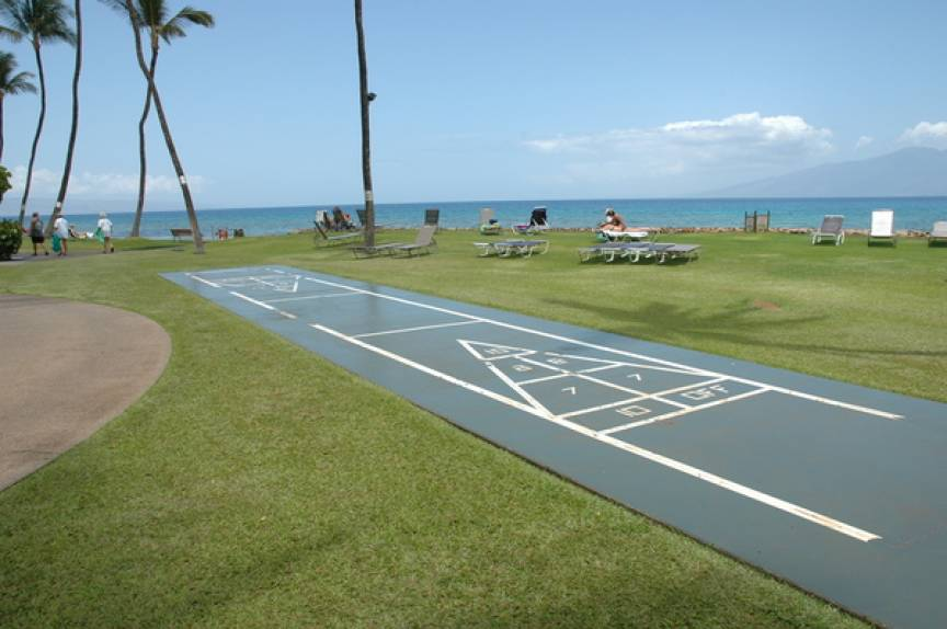 Papakea Resort Shuffleboard