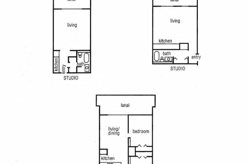 Pohailani room floor plan