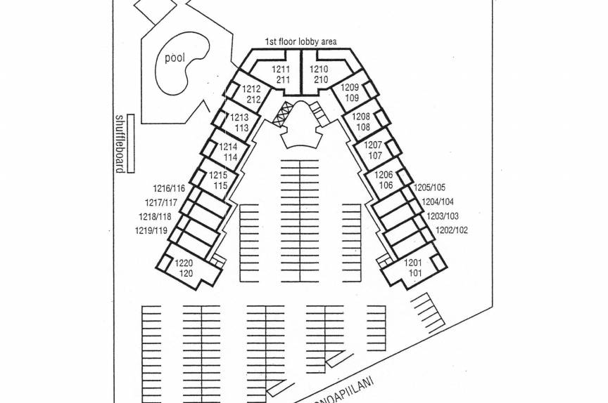 Royal Kahana property map