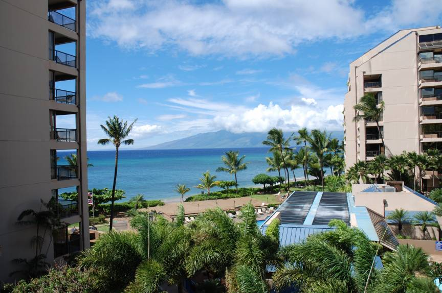 ocean view from Sands of Kahana condo