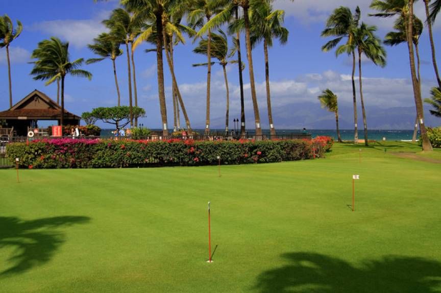 maui resort golf course
