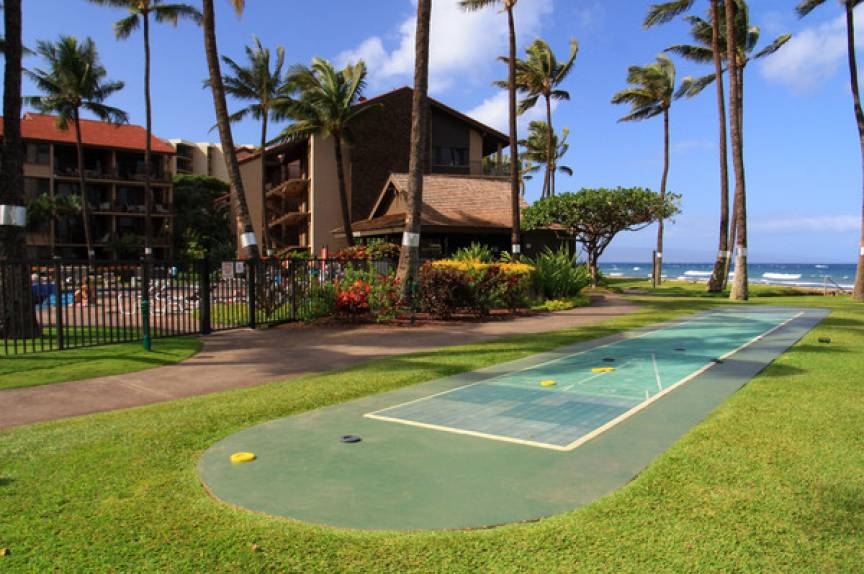 shuffleboard accomadations at Papakea Resort
